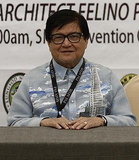 Felino Palafox Filipino architect, urban planner (born 1950)