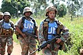 Female combat troops of South African Contingent in MONUSCO on robust foot and moblile patrols 62.jpg