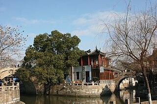 Jinshan District District in Shanghai, Peoples Republic of China