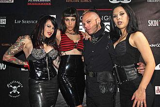 Fetish fashion - Fetish Fashion Models onstage