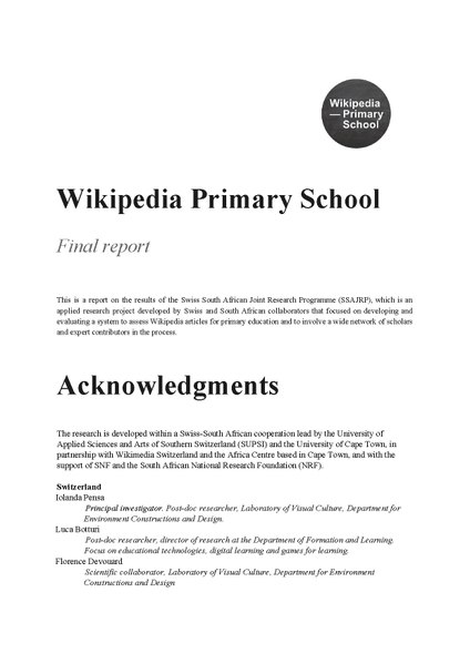 File:Final report Wikipedia Primary School - SSAJRP programme 2014-2017.pdf