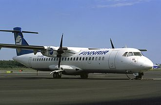 ATR 72 - An ATR 72 of Finnair, its launch operator