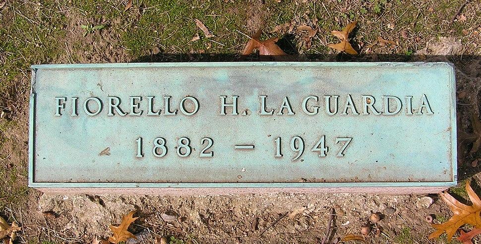 Fiorello LaGuardia footstone 800