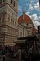 Firenze - Florence - Piazza del Duomo - View ENE on Campanile di Giotto 1359 & il Duomo.jpg
