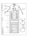 First Grant House, 121 South High Street, Galena, Jo Daviess County, IL HABS ILL,43-GALA,2- (sheet 2 of 2).png