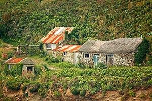Prussia Cove - Fishermens huts