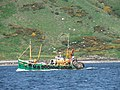 Fishing Boat entering Campeltown Loch. - geograph.org.uk - 180650.jpg