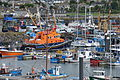 Fishing boats and lifeboat in Newlyn harbour (7345).jpg
