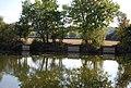 Fishing platforms, Ballast Pit, Haysden Country Park - geograph.org.uk - 1529388.jpg