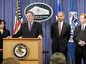 Patrick Fitzgerald - Fitzgerald announces drug trafficking charges at the Department of Justice in 2009