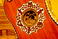 Five-course guitar (c.1695-1699) by Joachim Tielke - rosette soundhole - National Museum of American History.jpg