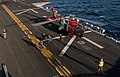 Flickr - Official U.S. Navy Imagery - A A U.S. Coast Guard helicopter takes off the flight deck of USS Peleliu..jpg