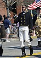 Flickr - Official U.S. Navy Imagery - Lt. Sharlow from USS Constitution marches in Lexington Patriots' Day Parade..jpg
