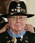 Flickr - The U.S. Army - Medal of Honor, Maj. Bruce Crandall (cropped).jpg