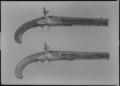 Flintlåspistoler, Norrtälje, 1750-1775 c - Livrustkammaren - 44778.tif
