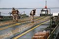 Floating tanks, Bridge Co., 2nd Tanks partner for training exercise 131017-M-IU187-081.jpg