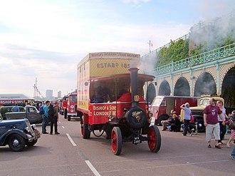Edwin Foden, Sons & Co. - 1930 Foden steam lorry