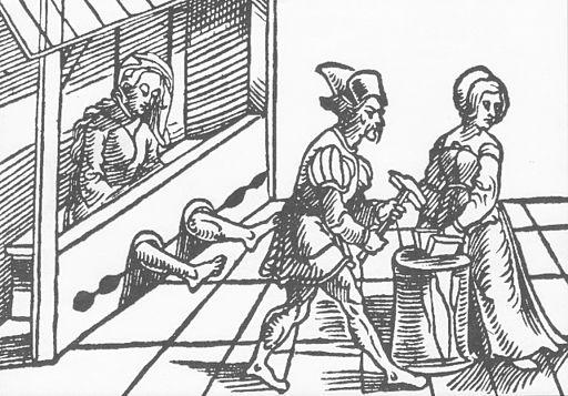 Folter von Hexen