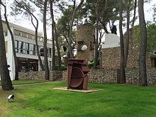 Gardens of the Fondation Maeght Museum in Saint-Paul-du-Vence