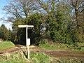 Footpath junction - geograph.org.uk - 741448.jpg