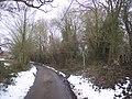 Footpath junction near Dingleden Farm - geograph.org.uk - 1710211.jpg