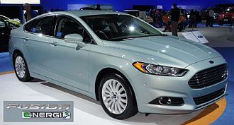 Green Car of the Year - The 2013 Ford Fusion Energi plug-in hybrid was awarded the 2013 Green Car of the Year together with the EcoBoost gasoline engine option, and the conventional hybrid variant.