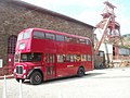 Former Rhondda Transport bus, Rhondda Heritage Park, Trehafod - geograph.org.uk - 2430691.jpg