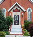 Former St. John's Swedish Lutheran Church Renovo entrance.jpg