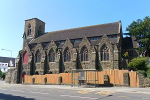 St Leonards-on-Sea Congregational Church - Image: Former St Leonards on Sea United Reformed Church, St Leonards on Sea (from East)