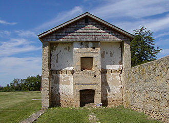 Ruins of historic Fort Atkinson Fort Atkinson Iowa.jpg