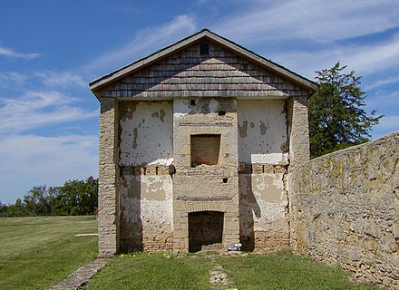Ruins of historic Fort Atkinson. Fort Atkinson Iowa.jpg