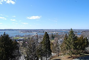 Tiverton, Rhode Island - View from Fort Barton, Tiverton, R.I.