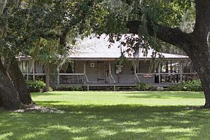 Fort Christmas - Fort Christmas Historical Park - Florida Cracker Home