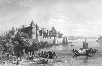 Allahabad Fort - Fort of Akbar, Allahabad, 1850s