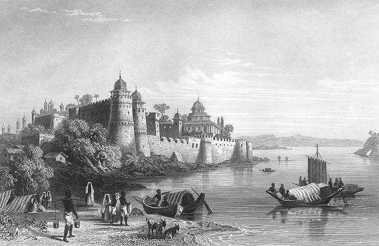 Fort of Akbar, Allahabad, 1850s