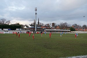 Ossett Town A.F.C. - Ossett Town playing at Ingfield in 2017.