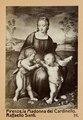 """Fotografi av """"Madonnan med steglitsan"""" av Rafael - Hallwylska museet - 103001.tif"""
