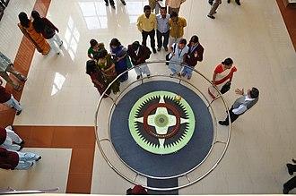 Foucault pendulum - Foucault's Pendulum at the Ranchi Science Centre