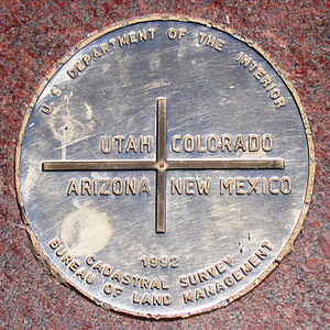 Apache County, Arizona - Apache County includes the Arizona section of the Four Corners Monument.
