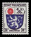 Fr. Zone 1945 9 Wappen Saarbrücken.jpg
