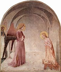 Annunciation with St. Dominic