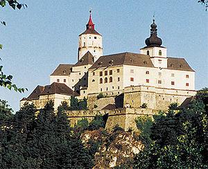 Esterházy - Forchtenstein (Hung. Fraknó, today Austria) Eszterházy-Castle