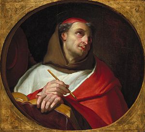 Secular Franciscan Order - Bonaventure (1221–1274), painting by Claude François, ca. 1650–1660.