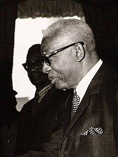 François Duvalier President of Haiti, 1957 to 1971 (b. 1907, d. 1971)