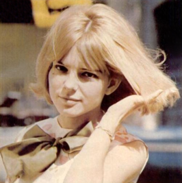 France Gall in 1965