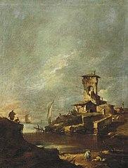Landschap-Capriccio