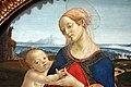 Francesco botticini, madonna col bambino e un breviario, post 1475, 02.jpg
