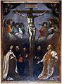 Francesco curradi, crocifisso e cinque santi, post 1622, 01.JPG