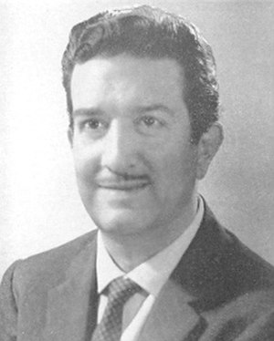Franco Evangelisti (politician) - Image: Franco Evangelisti 1968