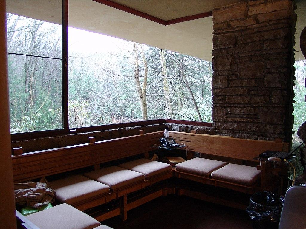 File Frank Lloyd Wright Fallingwater Interior 2 Jpg